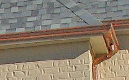 Copper Rain Flow Seamless Guttering Tulsa Oklahoma City