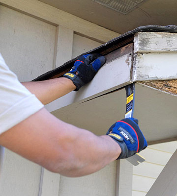 Wood Repair Rain Flow Seamless Guttering Tulsa Oklahoma